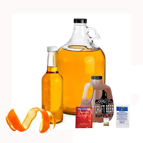 Home Brew Stuff NM-REC-OH Basic 1 gal Nano-Meadery Orange and Honey Mead Recipe Refill Kit (Best Homebrew Recipe Kits)