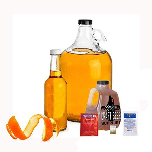 - Home Brew Stuff NM-REC-OH  Basic 1 gal Nano-Meadery Orange and Honey Mead Recipe Refill Kit