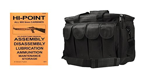 - Ultimate Arms Gear Hi-Point All 995 9MM Carbines Do Everything Manual Heavy Duty Large Range Gear Bag With Magazine Ammo Pouches