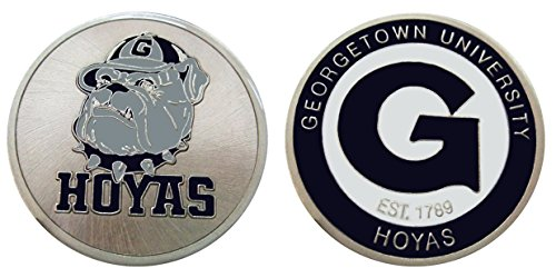 Georgetown University Hoyas Challenge Coin by Coin and Coins
