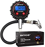 DIYCO D1 Elite Series Digital Tire Pressure Gauge | 5-150 PSI | Professional Grade