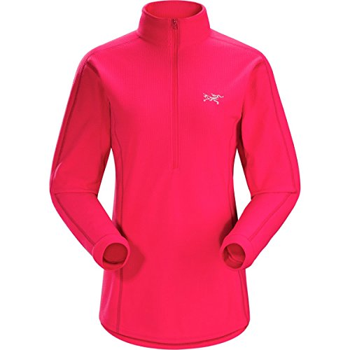 Micro Fleece 1/2 Zip Pullover (Arc'teryx Delta LT Fleece 1/2-Zip Pullover - Women's Rad, M)