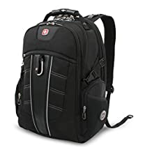 SwissGear TSA Backpack for 15-Inch Laptop with Accessory Pockets (SA1753)
