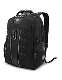 SwissGear SA1753 Black TSA Friendly ScanSmart Computer Backpack - Fits most 15 Inch Laptops and Tablets