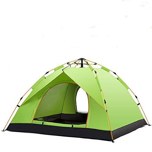 MMTC Presión Elástica Automática Al Aire Libre 2-3 Personas Al Aire Libre Ocio Familiar Camping Lluvia Tienda,4
