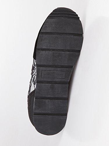 Jeans Pour Baskets Trussardi Noir Femme fq6dxd