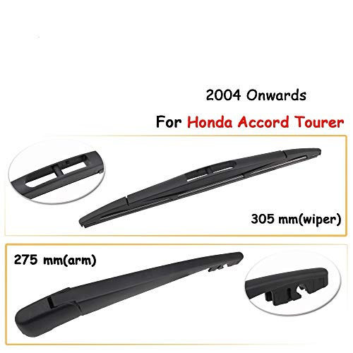 PSSC Pre Cut Rear Car Window Films for Honda Accord Estate 2003 to 2008 05/% Very Dark Limo Tint