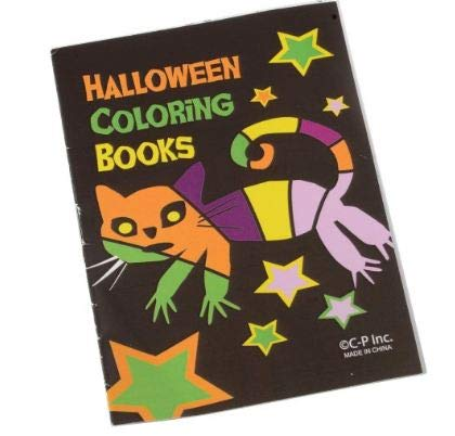 J&J's ToyScape Small Halloween Coloring Books (Pack of 36) Ideal for Party Favors, Giveaways, Reward Bucket, Goody Bag Fillers