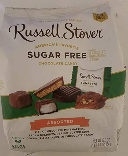 (Russell Stover Sugar Free 5 Flavor Assortment Candies 19.7 Ounce Value Bag)