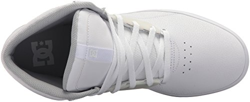Dc Mens Frequency High Skate Shoe White