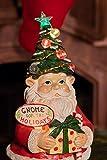 Alpine ZEN210S Christmas Gnome Statue with Color