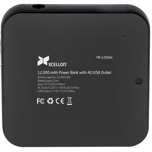 Xcellon 12,000mAh Power Bank with AC and USB Outlets by Xcellon (Image #4)