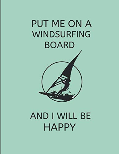 ing Board And I Will Be Happy: 2 In 1 Journal, Lined & Blank Paper Notebook ()