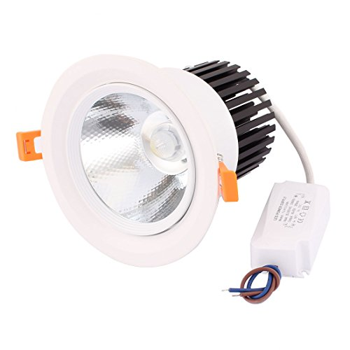 uxcell AC85-265 30W COB LED Ceiling Spotlight Lamp Downlight Recessed Pure White 2320lm