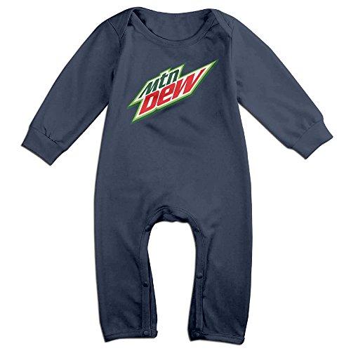 mtn-dew-drink-logo-baby-onesie-bodysuit-infant-romper-navy-24-months