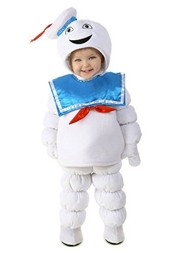 Stay Puft Marshmallow Man Toddler Costume - (Stay Puft Marshmallow Baby Costume)