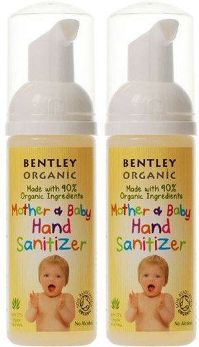 (2 Pack) - Bentley Organic - Mother & Baby Hand Sanitizer | 50ml | 2 PACK BUNDLE