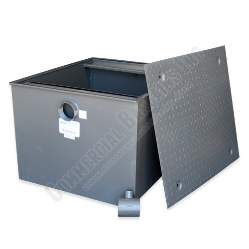 WentWorth 200 Pound Grease Trap Interceptor 100 GPM Gallons Per Minute WP-GT-100 by Wentworth