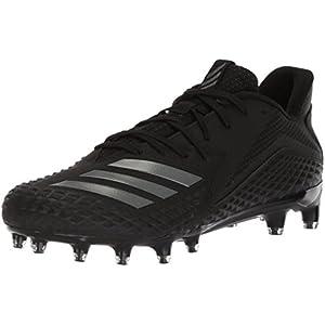 adidas Performance Men's Freak X Carbon Low Football Shoe, Black/Night Metallic/Black, 13 M US