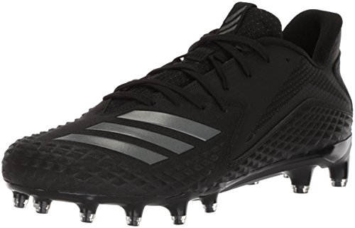 adidas Originals Men's Freak X Carbon Mid Football Shoe, Black/Night Metallic/Black, 10.5 M ()