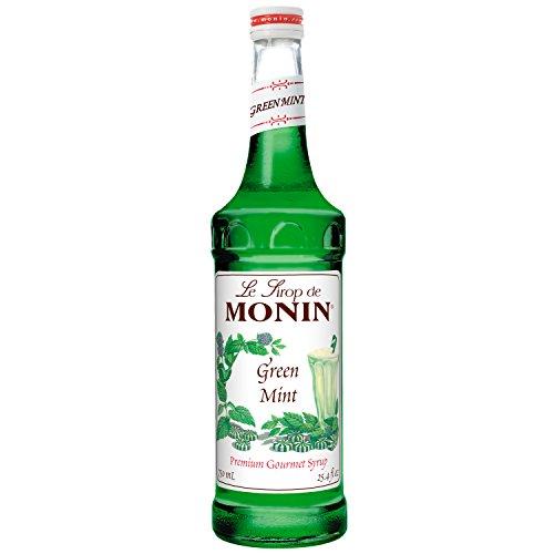 Monin Green Mint, 750 ml, 12 per case by Monin