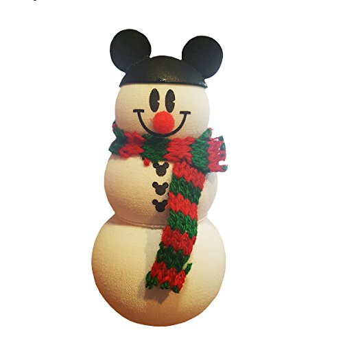 Disney Parks Christmas Holiday Snowman Mickey Mouse Ears Hat Car Antenna (Snowman Antenna)
