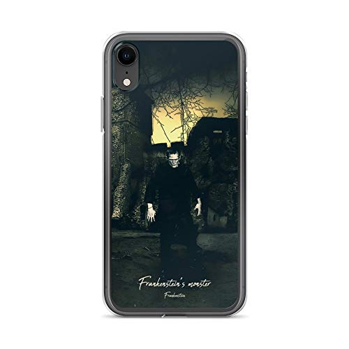 iPhone XR Case Anti-Scratch Motion Picture Transparent Cases Cover Frankenstein's Monster Frankenstein Movies Video Film Crystal Clear