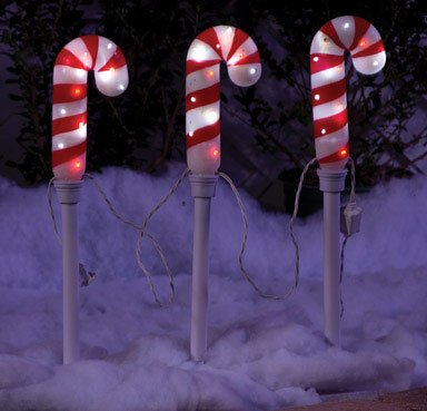 Candy Cane Pathway Lights Led in US - 9