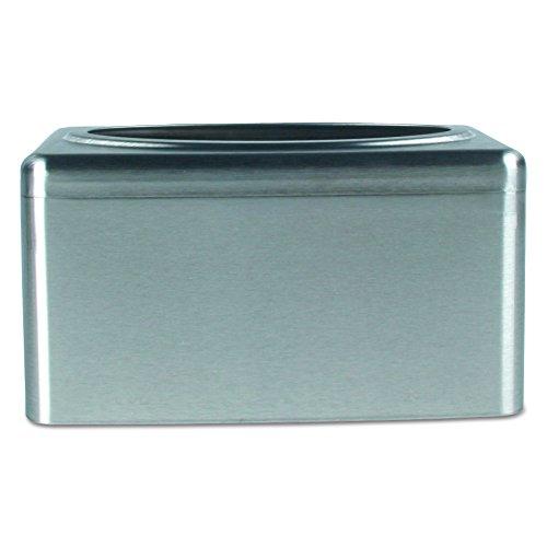stainless steel kleenex box - 2