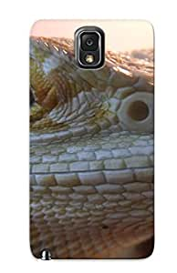 Exultantor Casqwz-6141-tbmbrwv Protective Case For Galaxy Note 3(animal Lizard) - Nice Gift For Lovers