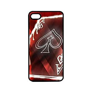 QYF Playing Cards A Pattern Design Plastic Hard Case for iPhone 6