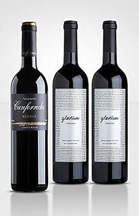 Canforrales Pack de Vino Viñas viejas - Paquete de 3 x 750 ml - Total: 2250 ml: Amazon.es: Alimentación y bebidas