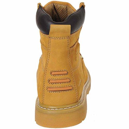 SUW–Steelite Plus Kedernaht Arbeit Sicherheit Workwear Boot Sbp HRO, EU 41 - UK 7, honig, 1 honig