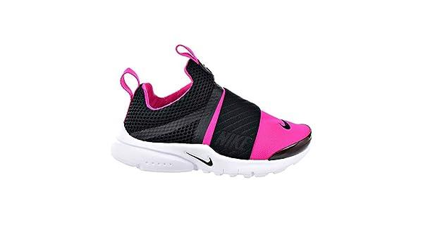 Zapatillas de running Nike Girls Presto Extreme (PS), negras / negras-rosadas Prime-White 11C: Amazon.es: Zapatos y complementos