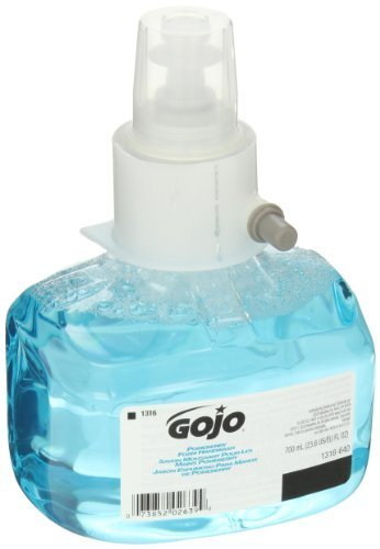 GOJO 1316-03 Pomeberry Foam Handwash, Pleasant Pomegranate Fragrance, 700mL Refill, Blue (Pack of 3)