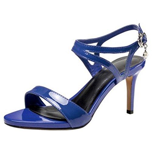Aiguille Coolcept 5cm À Femmes Blue Sandales 7 Talon 044fxIwq