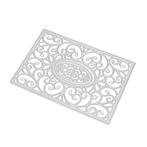Fabal Frame Metal Cutting Dies DIY Album Scrapbook Card Bookmark Decor Tools Cutting Dies for Scrapbooking (C) by Fabal (Image #1)