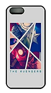 Custom The Avengers Crystal Clear Enamel Hard Back Cover Case for iPhone 5/5s