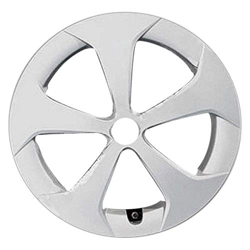 Replacement For Toyota Prius 2012-2015 Replace 15 inch 5 Spokes Silver Wheel Cover