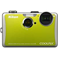Nikon Coolpix S1100pj 14 MP Digital Camera with 5x Wide Angle Optical Vibration Reduction (VR) Zoom and 3-Inch LCD and Built-in Projector (Green) Advantages Review Image