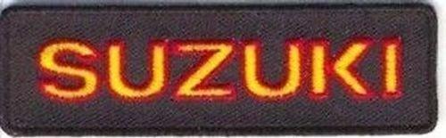 SUZUKI Embroidered Cool Biker Leather Vest Motorcycle HAYABUSA MC Patch PAT-1779