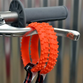 moto365 MX Orange Motocross KNOBBY Dirt Bike TIRE Wristband