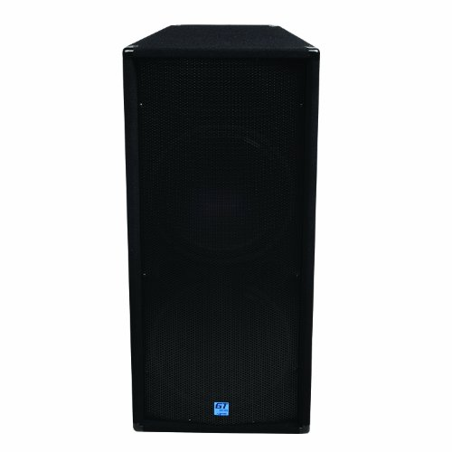 GEMINI GT-3004 Dual 15'' 1200 Watt Club/DJ Carpeted Passive Loudspeaker by Gemini