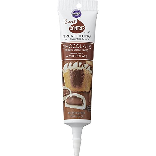 Wilton 710-4540 Sweet Centers Treat Filling-Chocolate, 6.25 ()