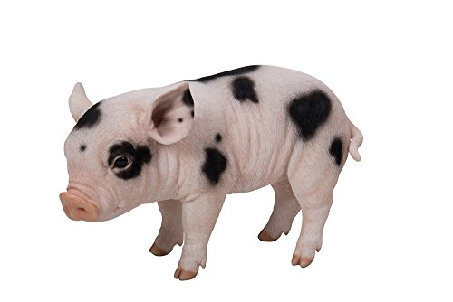 nding Pig Statue with Black Spots ()