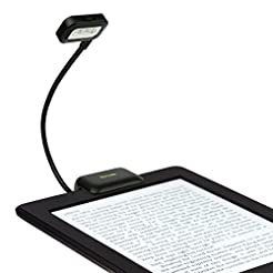 iKross Black Dual LED Clip-On Reading Li...