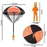 JOYIN 8 Pack 2 in 1 Foam Airplanes and Parachute