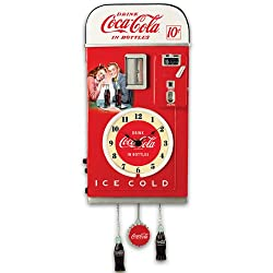 The Bradford Exchange Wall Decor: COCA-COLA Time for Refreshment Vending Machine Wall Clock