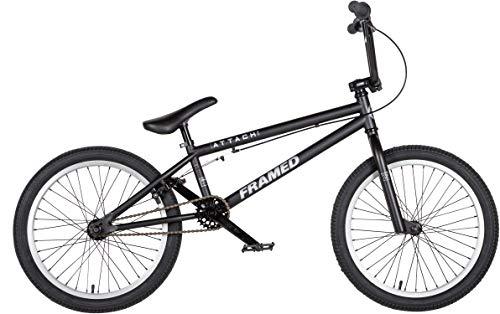 Framed Attack XL BMX Bike Black/Silver Sz 20in