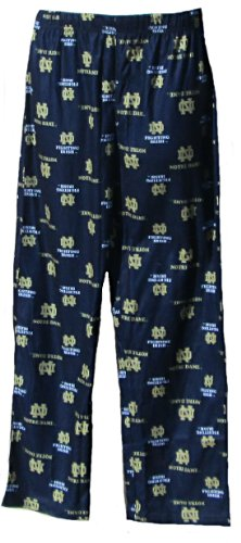 NCAA by Outerstuff NCAA Notre Dame Fighting Irish Youth Boys Team Color Printed Pant, Dark Navy, Youth X-Large(18)